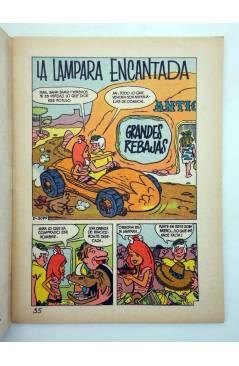 Muestra 1 de HANNA BARBERA PUBLICACIÓN JUVENIL 35. LOS PICAPIEDRA. GRANDES REBAJAS. Ediprint 1984
