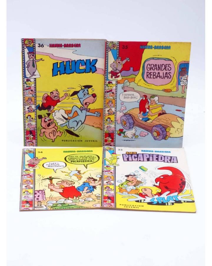 Cubierta de HANNA BARBERA PUBLICACIÓN JUVENIL 33 34 35 36. LOTE DE 4. Ediprint 1984