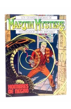 Cubierta de MARTIN MYSTERE 1. HOMBRES DE NEGRO (A. Castelli / G. Alessandrini) Zinco 1982. BONELLI