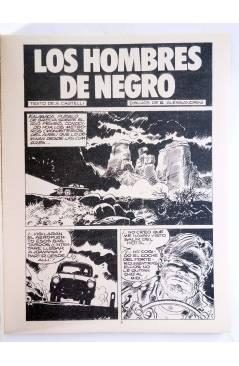 Muestra 1 de MARTIN MYSTERE 1. HOMBRES DE NEGRO (A. Castelli / G. Alessandrini) Zinco 1982. BONELLI