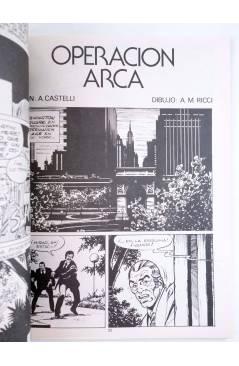 Muestra 2 de MARTIN MYSTERE 3. OPERACIÓN ARCA (A. Castelli / A.M. Ricci) Zinco 1982. BONELLI
