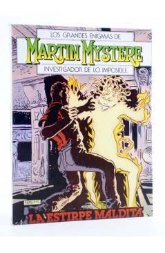 Cubierta de MARTIN MYSTERE 4. LA ESTIRPE MALDITA (A. Castelli / F. Bignotti) Zinco 1982. BONELLI