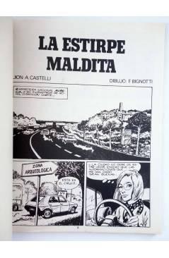 Muestra 1 de MARTIN MYSTERE 4. LA ESTIRPE MALDITA (A. Castelli / F. Bignotti) Zinco 1982. BONELLI