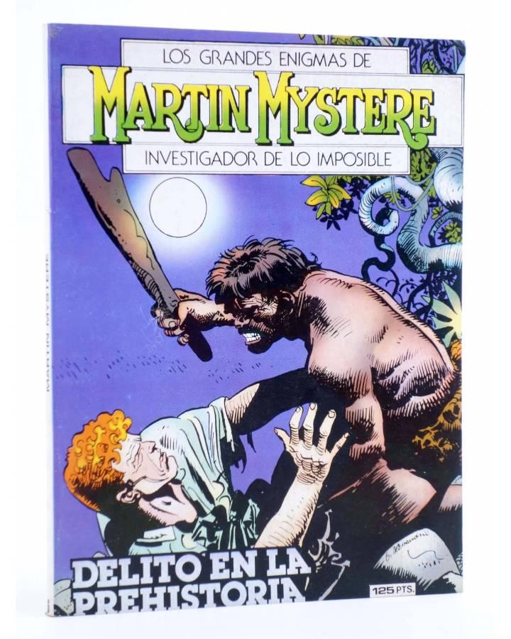 Cubierta de MARTIN MYSTERE 6. DELITO EN LA PREHISTORIA (A. Castelli / Cassaro) Zinco 1983. BONELLI