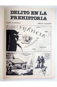Muestra 1 de MARTIN MYSTERE 6. DELITO EN LA PREHISTORIA (A. Castelli / Cassaro) Zinco 1983. BONELLI