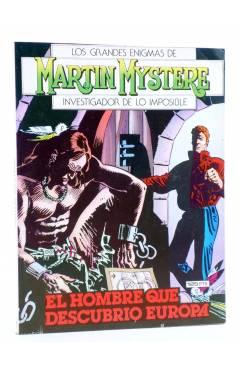 Cubierta de MARTIN MYSTERE 7. EL HOMBRE QUE DESCUBRIÓ EUROPA (Castelli / F. Bignotti) Zinco 1983. BONELLI