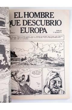 Muestra 2 de MARTIN MYSTERE 7. EL HOMBRE QUE DESCUBRIÓ EUROPA (Castelli / F. Bignotti) Zinco 1983. BONELLI
