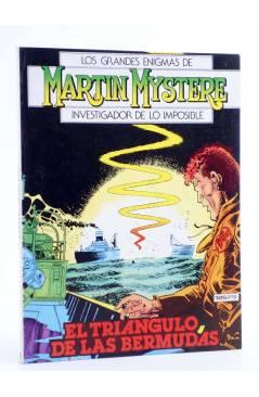 Cubierta de MARTIN MYSTERE 9. EL TRIÁNGULO DE LAS BERMUDAS (A. Castelli / A.M. Ricci) Zinco 1983. BONELLI
