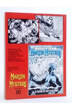 Contracubierta de MARTIN MYSTERE 9. EL TRIÁNGULO DE LAS BERMUDAS (A. Castelli / A.M. Ricci) Zinco 1983. BONELLI