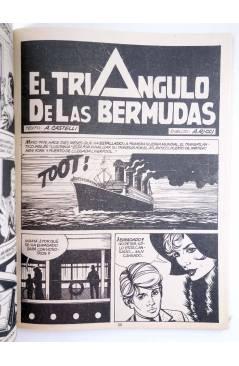 Muestra 2 de MARTIN MYSTERE 9. EL TRIÁNGULO DE LAS BERMUDAS (A. Castelli / A.M. Ricci) Zinco 1983. BONELLI