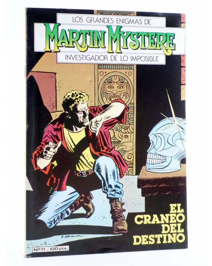 Cubierta de MARTIN MYSTERE 11. EL CRÁNEO DEL DESTINO (A. Castelli / C. Villa) Zinco 1983. BONELLI