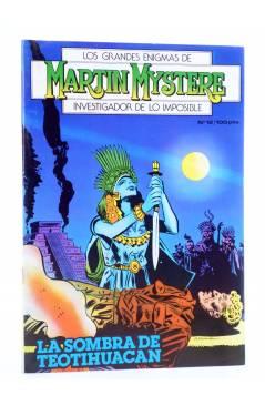 Cubierta de MARTIN MYSTERE 12. LA SOMBRA DE TEOTIHUACAN (A. Castelli / C. Villa) Zinco 1983. BONELLI
