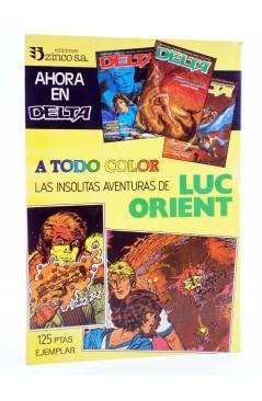 Contracubierta de MARTIN MYSTERE 12. LA SOMBRA DE TEOTIHUACAN (A. Castelli / C. Villa) Zinco 1983. BONELLI