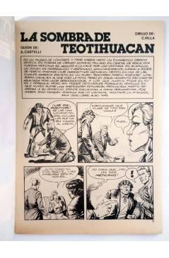 Muestra 1 de MARTIN MYSTERE 12. LA SOMBRA DE TEOTIHUACAN (A. Castelli / C. Villa) Zinco 1983. BONELLI