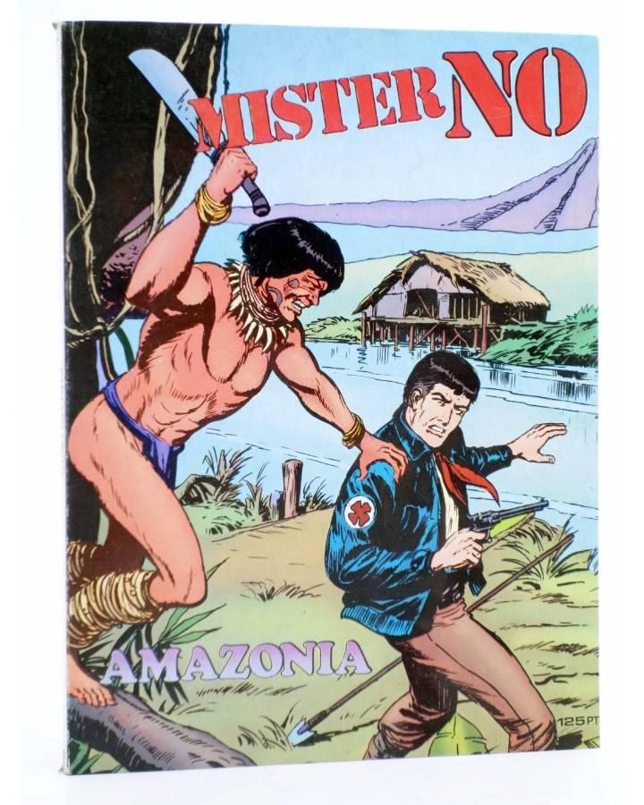 Cubierta de MISTER NO 2. AMAZONIA (G. Nolitta) Zinco 1982. BONELLI
