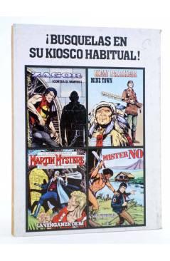 Contracubierta de MISTER NO 2. AMAZONIA (G. Nolitta) Zinco 1982. BONELLI