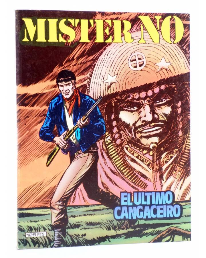 Cubierta de MISTER NO 3. EL ÚLTIMO CANGACEIRO (G. Nolitta / F. Bignot) Zinco 1982. BONELLI