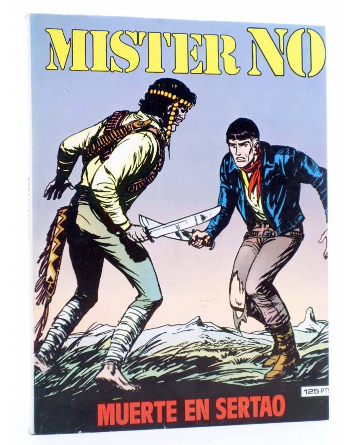 Cubierta de MISTER NO 4. MUERTE EN SERTAO (G. Nolitta) Zinco 1982. BONELLI