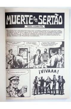 Muestra 1 de MISTER NO 4. MUERTE EN SERTAO (G. Nolitta) Zinco 1982. BONELLI