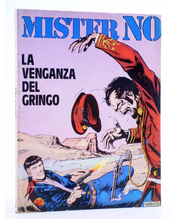 Cubierta de MISTER NO 5. LA VENGANZA DEL GRINGO (G.Nolitta / Bignot) Zinco 1983. BONELLI