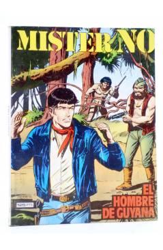 Cubierta de MISTER NO 6. EL HOMBRE DE GUYANA (G.Nolitta / R. Diso) Zinco 1983. BONELLI