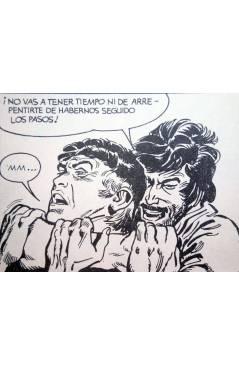 Muestra 3 de MISTER NO 7. TAMBORES EN LA JUNGLA (G.Nolitta / R. Diso) Zinco 1983. BONELLI