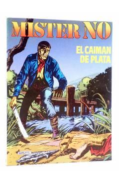 Cubierta de MISTER NO 8. EL CAIMÁN DE PLATA (G.Nolitta / Bignot) Zinco 1983. BONELLI