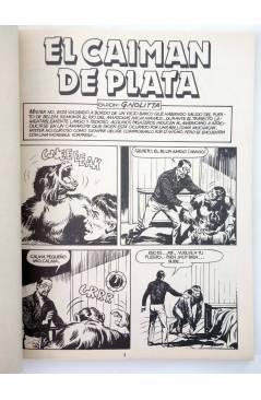Muestra 1 de MISTER NO 8. EL CAIMÁN DE PLATA (G.Nolitta / Bignot) Zinco 1983. BONELLI