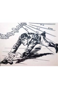 Muestra 4 de MISTER NO 8. EL CAIMÁN DE PLATA (G.Nolitta / Bignot) Zinco 1983. BONELLI