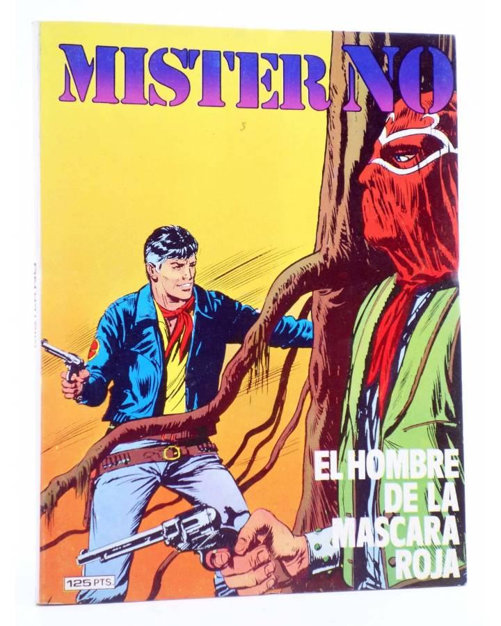 Cubierta de MISTER NO 9. EL HOMBRE DE LA MÁSCARA ROJA (G.Nolitta / Bignot) Zinco 1983. BONELLI