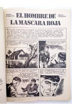 Muestra 1 de MISTER NO 9. EL HOMBRE DE LA MÁSCARA ROJA (G.Nolitta / Bignot) Zinco 1983. BONELLI