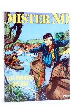 Cubierta de MISTER NO 10. LOS PIRATAS DEL RÍO (G.Nolitta / Bignot) Zinco 1983. BONELLI