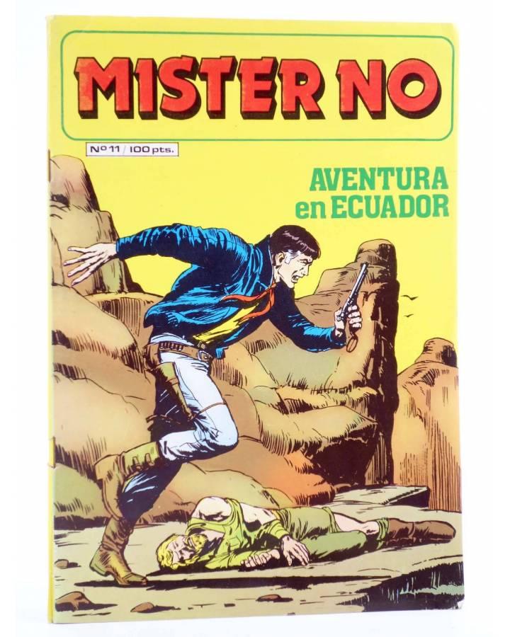 Cubierta de MISTER NO 11. AVENTURA EN ECUADOR (G.Nolitta / Bignot) Zinco 1983. BONELLI