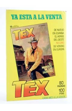 Contracubierta de MISTER NO 11. AVENTURA EN ECUADOR (G.Nolitta / Bignot) Zinco 1983. BONELLI