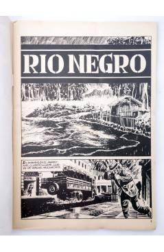 Muestra 1 de MISTER NO 13. RÍO NEGRO (G. Nolitta) Zinco 1983. BONELLI