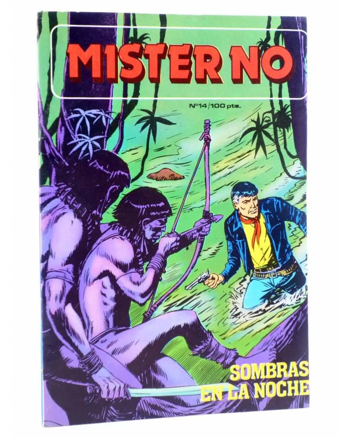 Cubierta de MISTER NO 14. SOMBRAS EN LA NOCHE (G. Nolitta) Zinco 1983. BONELLI