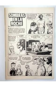 Muestra 1 de MISTER NO 14. SOMBRAS EN LA NOCHE (G. Nolitta) Zinco 1983. BONELLI