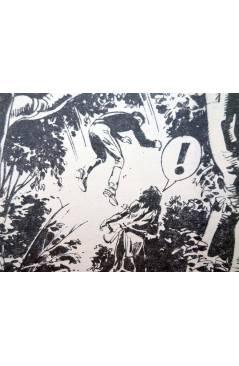 Muestra 3 de MISTER NO 15. LA PIRÁMIDE EN LA JUNGLA (G. Nolitta) Zinco 1983. BONELLI