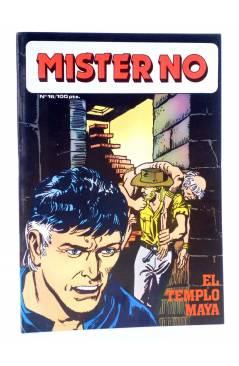 Cubierta de MISTER NO 16. EL TEMPLO MAYA (G. Nolitta) Zinco 1983. BONELLI