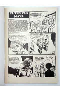 Muestra 1 de MISTER NO 16. EL TEMPLO MAYA (G. Nolitta) Zinco 1983. BONELLI
