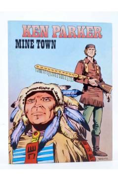 Cubierta de KEN PARKER 2. MINE TOWN (Berardi / Milazzo) Zinco 1982. BONELLI