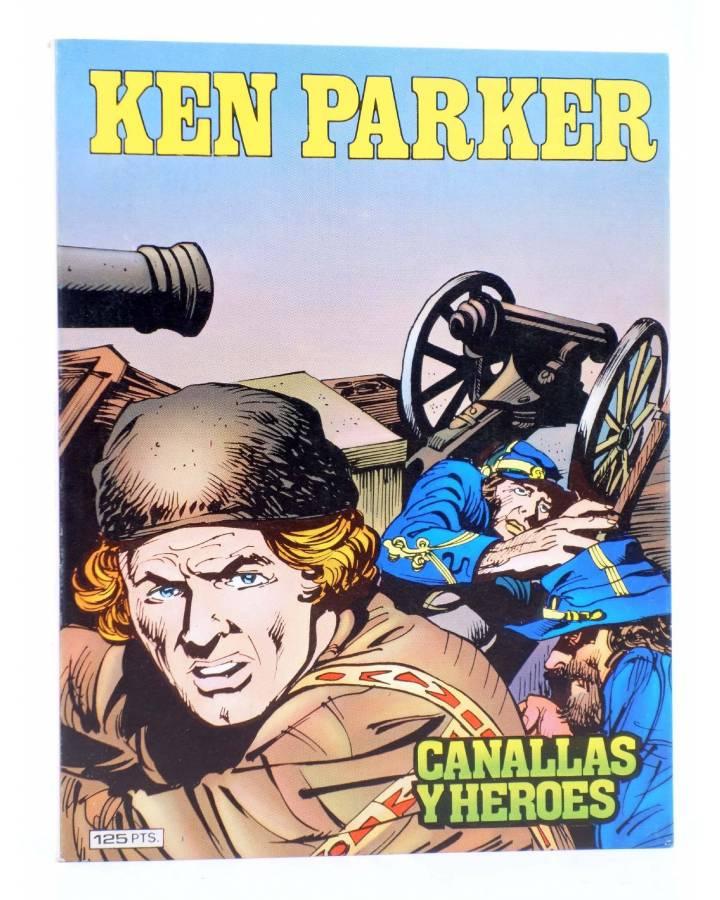 Cubierta de KEN PARKER 3. CANALLAS Y HÉROES (Berardi / Milazzo) Zinco 1982. BONELLI