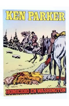 Cubierta de KEN PARKER 4. HOMICIDIO EN WASHINGTON (Berardi / Milazzo) Zinco 1982. BONELLI