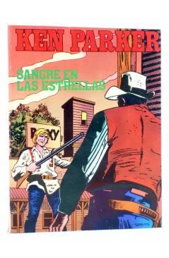 Cubierta de KEN PARKER 6. SANGRE EN LAS ESTRELLAS (Berardi / Alessandrini) Zinco 1983. BONELLI