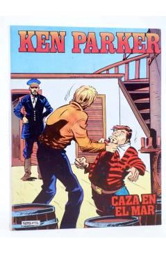 Cubierta de KEN PARKER 9. CAZA EN EL MAR (Berardi / Alessandrini) Zinco 1983. BONELLI