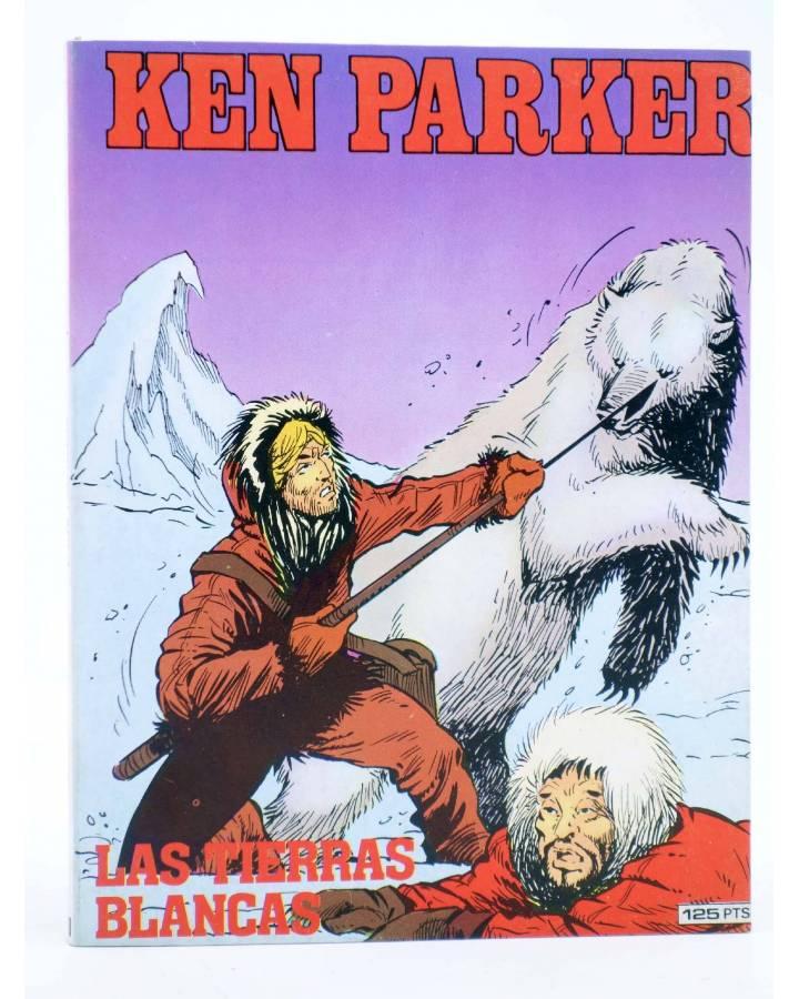 Cubierta de KEN PARKER 10. LAS TIERRAS BLANCAS (Berardi / Marraffa) Zinco 1983. BONELLI