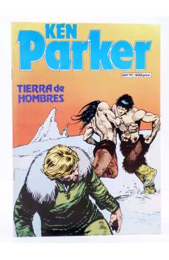 Cubierta de KEN PARKER 11. TIERRA DE HOMBRES (Berardi / Marraffa) Zinco 1983. BONELLI
