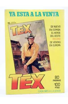 Contracubierta de KEN PARKER 11. TIERRA DE HOMBRES (Berardi / Marraffa) Zinco 1983. BONELLI