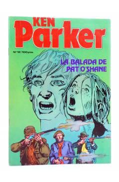 Cubierta de KEN PARKER 12. LA BALADA DE PAT O'SHANE (Berardi / Milazzo) Zinco 1983. BONELLI