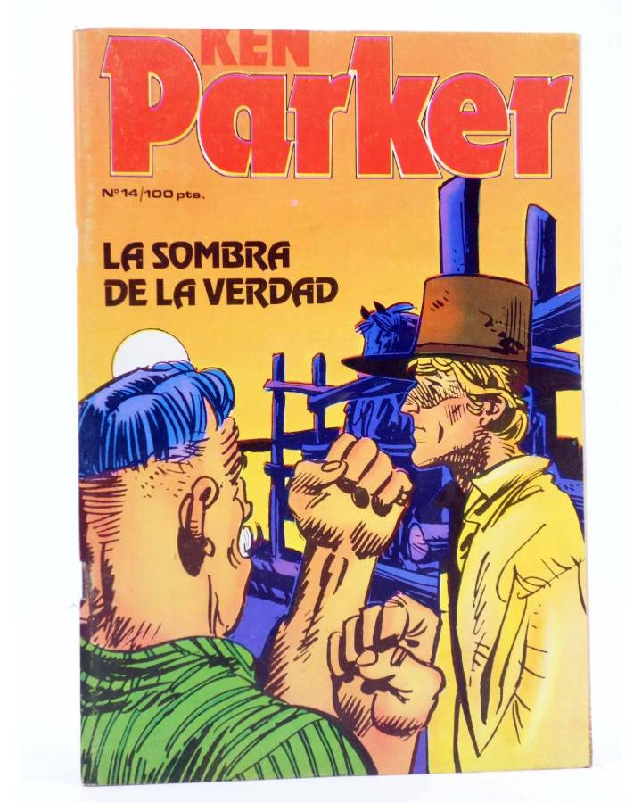 Cubierta de KEN PARKER 14. LA SOMBRA DE LA VERDAD (Berardi / Alessandrini) Zinco 1983. BONELLI